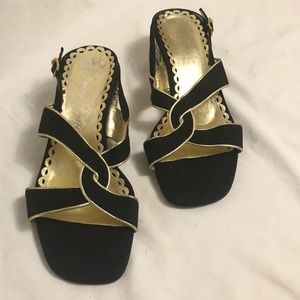 Vintage Juicy Couture kitten heels